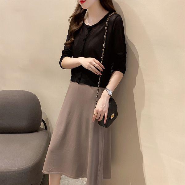 210 Black One-piece Sonnenschutz Kleidung