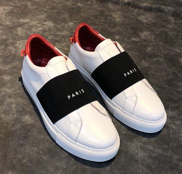 белый / черный красный каблук