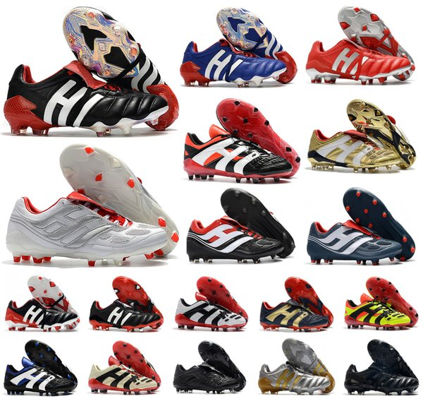 best selling Classics Predator 20+ Mutator Mania Tormentor Accelerator Electricity Precision Champagne 20+x FG Men soccer shoes cleats football boots