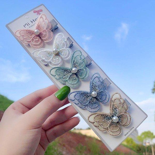 De doble capa de tarjeta One Five mariposa
