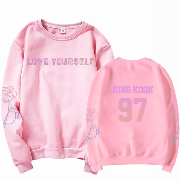 Sweat-shirt rose 97