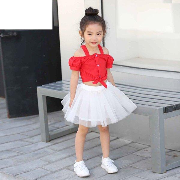 Girls Red 2Pcs