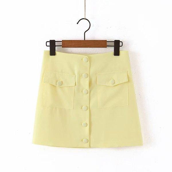 Falda-amarillo