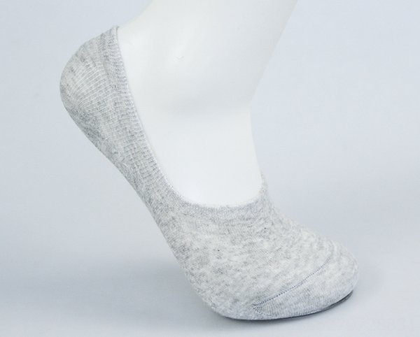 Vertical Invisible Chaussettes Gris