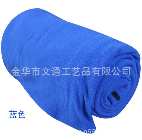Blue-Double-sided Fleece 180x80