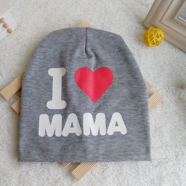 i Love Mom Gris