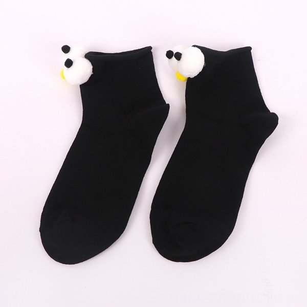 Black Big Eye Socks