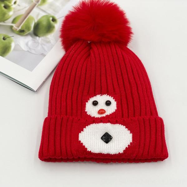 Pupazzo di neve di colore rosso violaceo