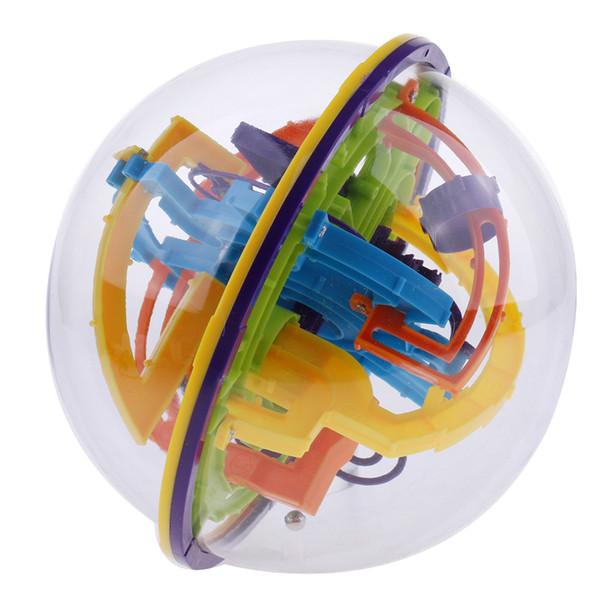 best selling 158 Steps Labyrinth Puzzle Ball 3D Maze Kids Magic Cube Fun for Intelligent Development