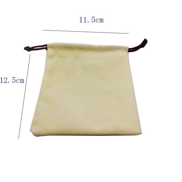 Sólo bolsa de tela 12,5 * 11,5 cm