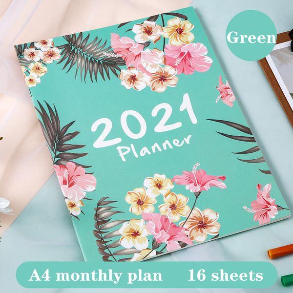 2021green A4 China