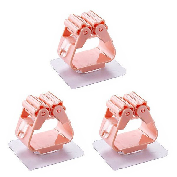 Three pink