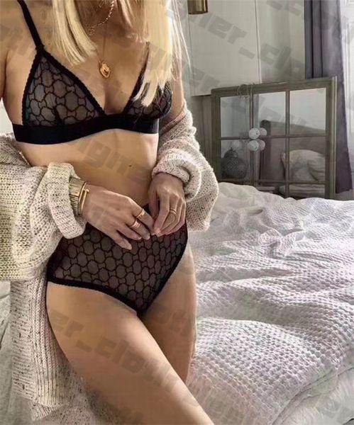 top popular 21ss Luxurys womens underwear ladies sexy Bra Sets lace flower vest vest waistcoat underwears lace crop top bra brand bra briefs 2021