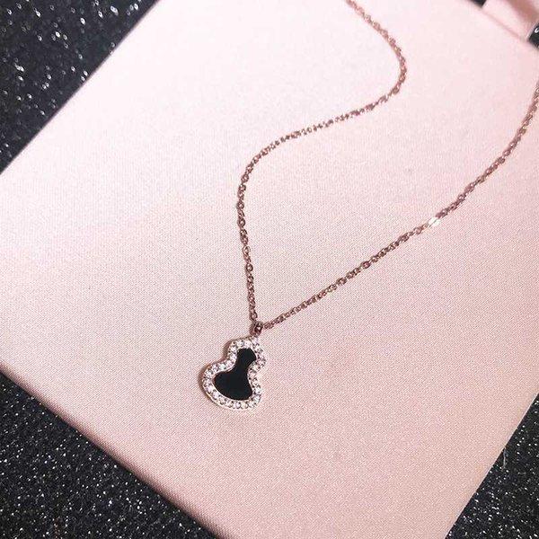розовое золото -черного 45см