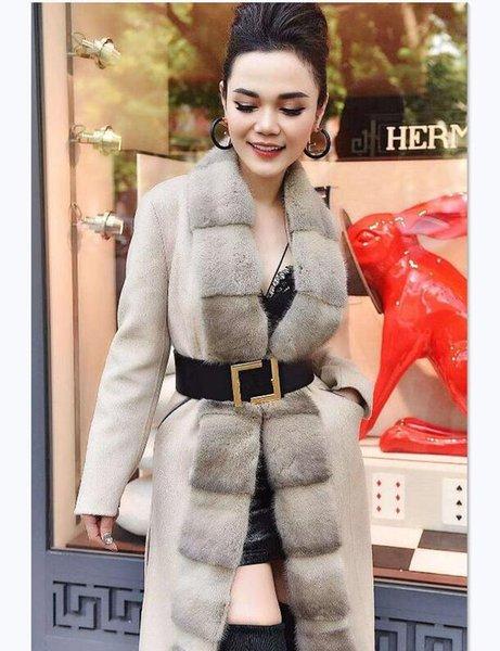 best selling 2020 Designer Belts 20 style lady Fashion Belt Women 7.0cm big buckle Leather Belt Gold Buckle Fashion designer Genuine belts NO box