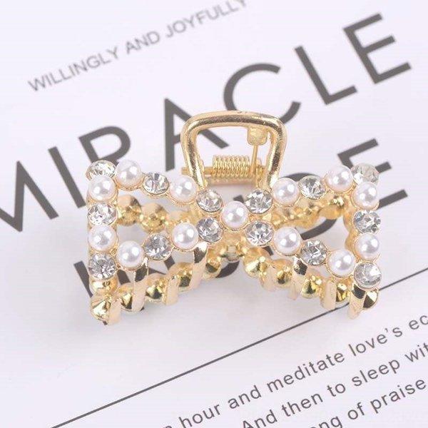 Bowknot Perlen und Diamanten