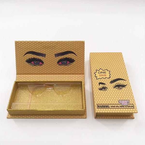 caja vacía de color amarillo