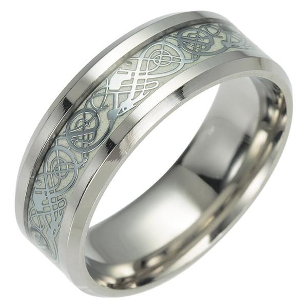 Silver dragon pattern