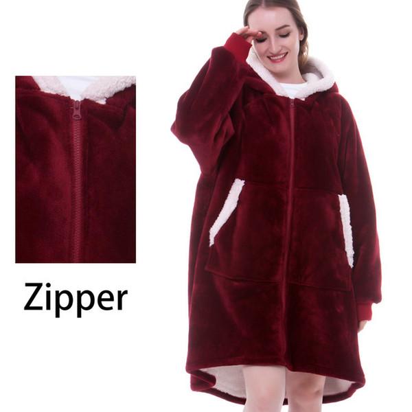 Zip kırmızı