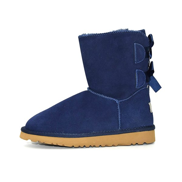 Ankle 2 Bow - Blau