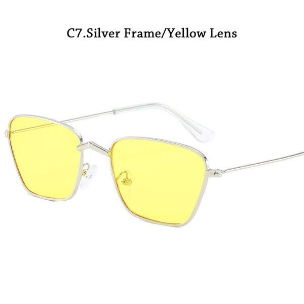 C7Yellow Lens Cina