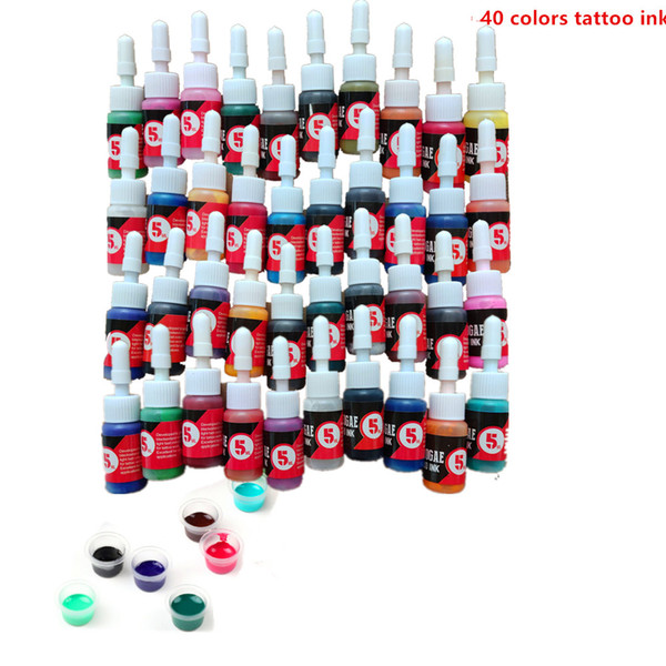 40 colors ink