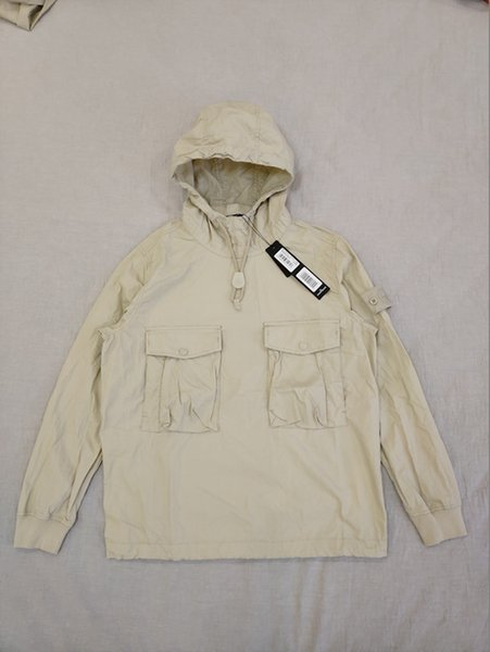 best selling E SMOCK ANORAK COTTON NYLON TELA Pullover Jacket Men Women Coats Fashion Windbreaker Jackets Outerwear