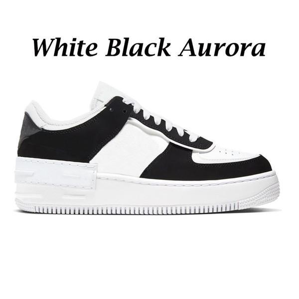 # 15 weiße schwarze Aurora 36-45