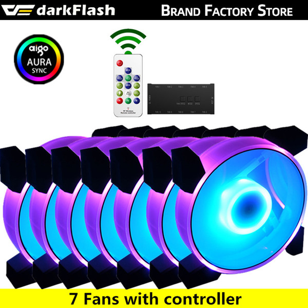 China 7fans and controller