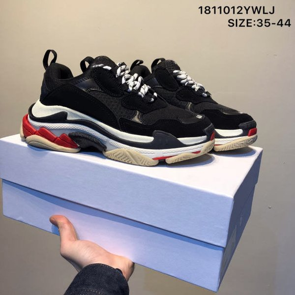 Triple S Black Red