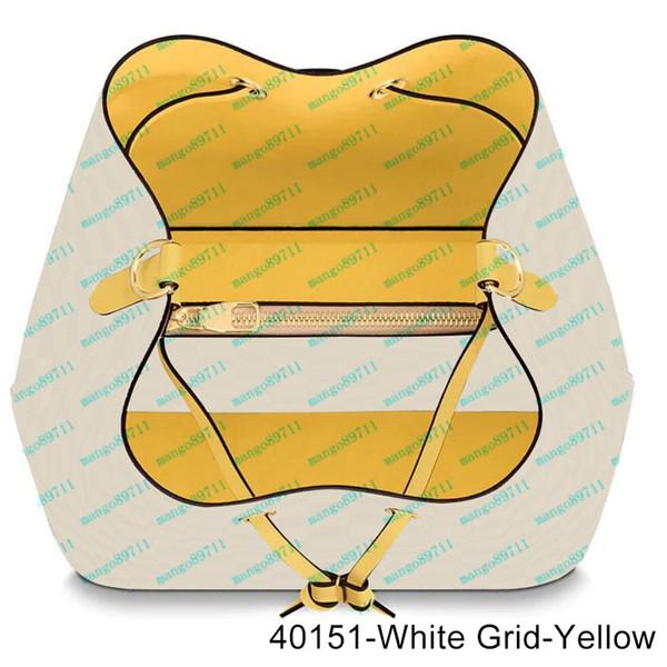 40151-White Grid-Gelb