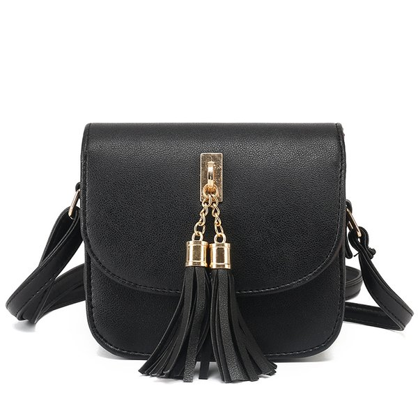 fashion 2020 small chains bag women candy color tassel messenger bags female handbag shoulder bag flap women bolsa feminina