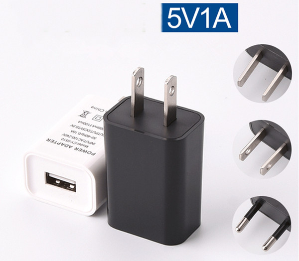 best selling Fast Adaptive Charger 5V 1A USB New Design Power Adapter For Iphone 12 Samsung Galaxy S6 s8 S10 Note 10 htc Android phone pc Top Qualit