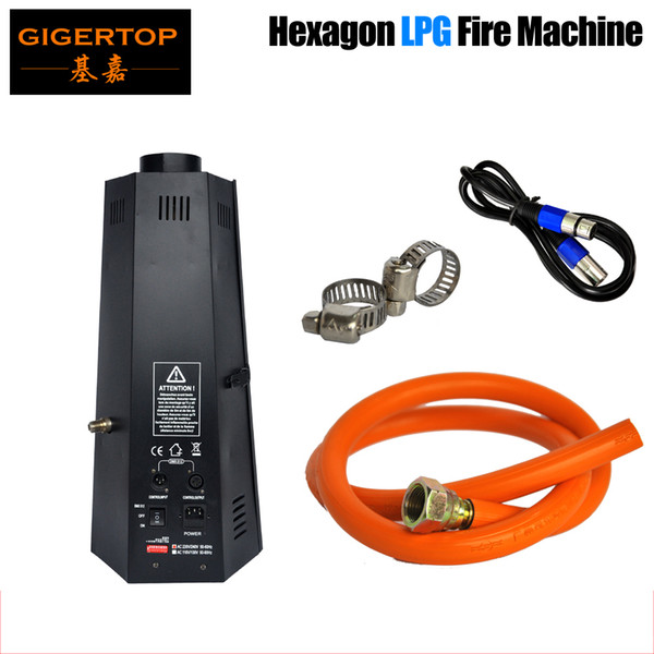 best selling Hot sale Single way LPG Flame Projector DMX Stage Fire Flame Machine For Sale Instant Stop Device Stage Flame Thrower With Safe Channel