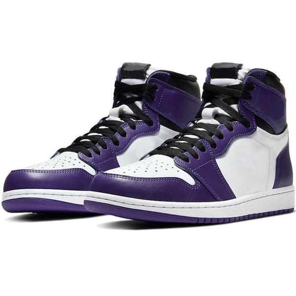 6 Court Purple White