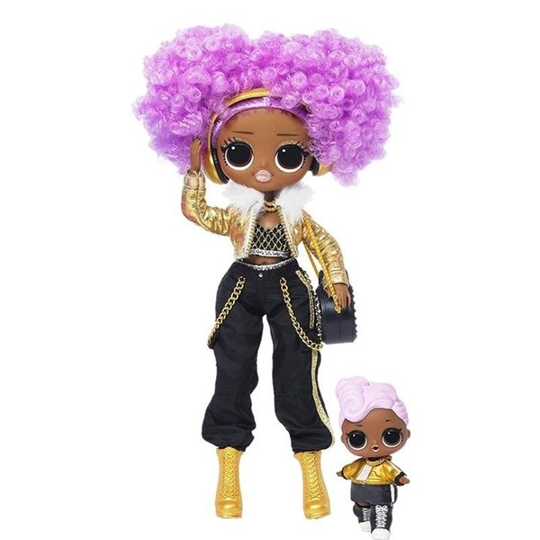 top popular LOL. Surprise! O.m.g. Winter Disco 24K D.j. Fashion Doll & Sister Girls Toys Y200428 2020
