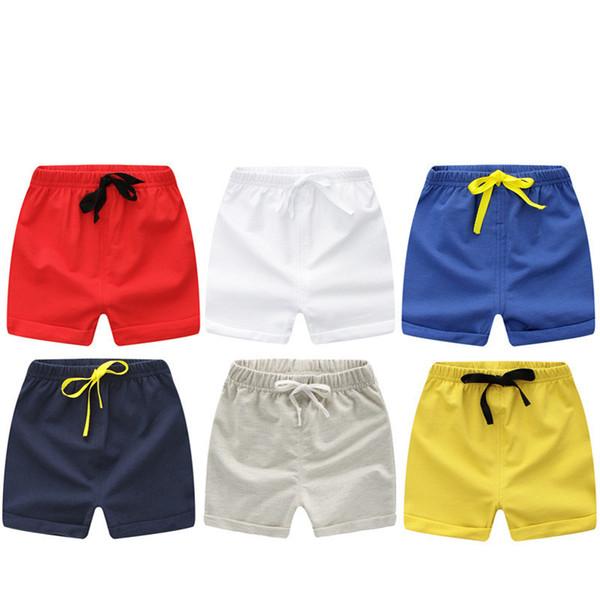 best selling 2020 Summer Children Shorts Cotton Shorts For Boys Girls Brand Shorts Toddler Panties Kids Beach Short Sports Pants Baby Clothing