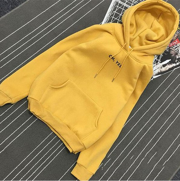 Yellow Hoodies