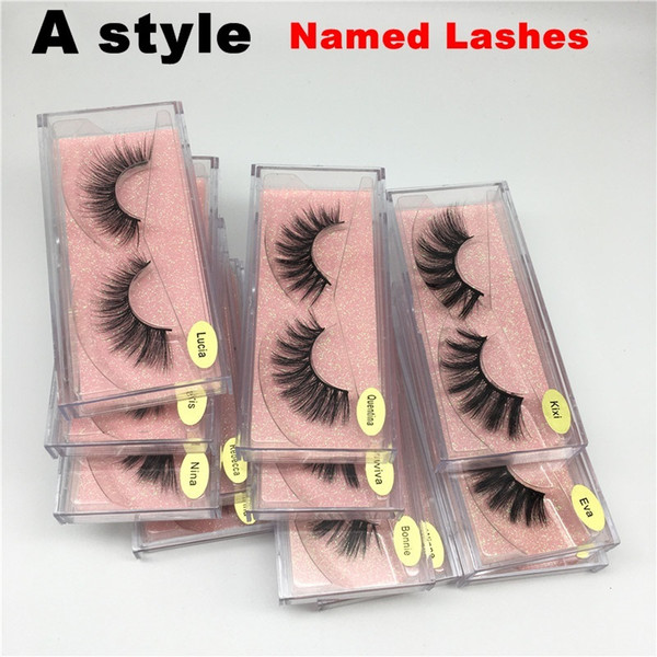 Un style nommé Lashes Mix Randomly