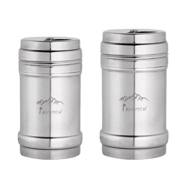 best selling Salt Pepper Shaker Jar Stainless Condiment Dispenser