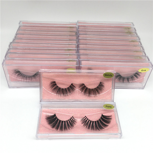 top popular Newest 3D Mink Lashes False Eyelashes 25 Styles Thick Natural Soft Eyelash Eye Lashes 3D Eye Lashes Mink False Eyelash Eye Makeup 2021