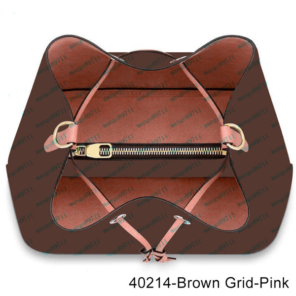 40213-Brown Grid-rosa