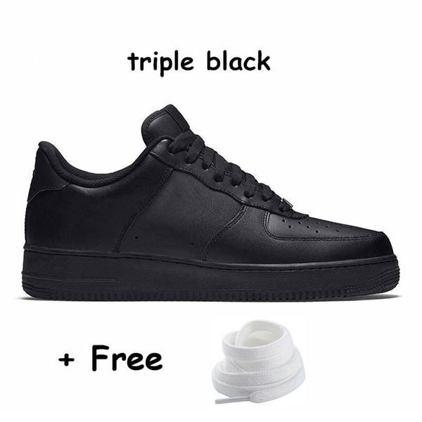 37 Üçlü siyah