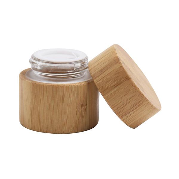 30 мл бамбука банка (стекло) Стекло