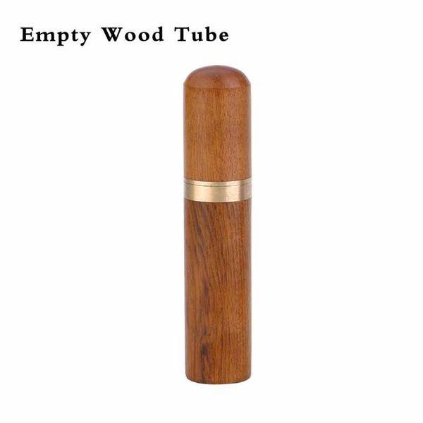 C - Nicht ausgefüllt Wood Tube