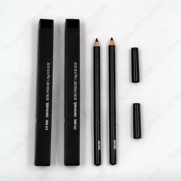 Eye Kohl Crayon Smolder Eye Liner Pencil black color With Box Easy to Wear Natural Cosmetic Makeup Eye Pencil