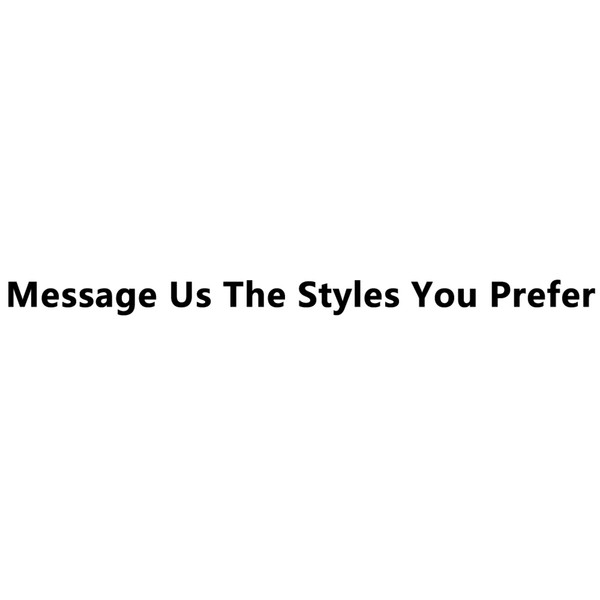 Tell Us The Styles You Want