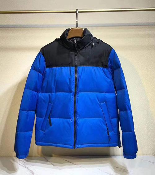 N style(no fur,have hooded)blue