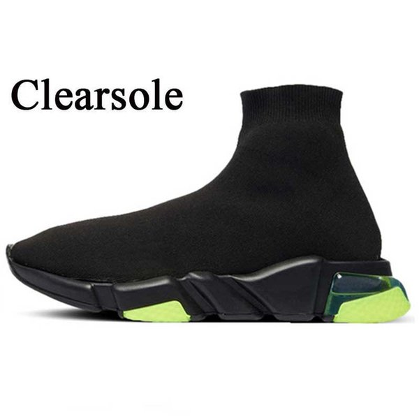 A28 Clearsole Black Volt 36-45