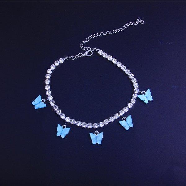 Argento Colore Blu